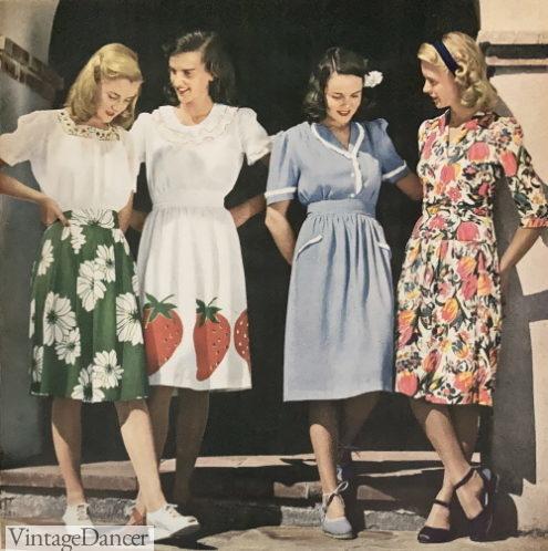 1944 peasant skirts