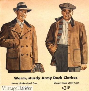 1944 duck cloth jackets