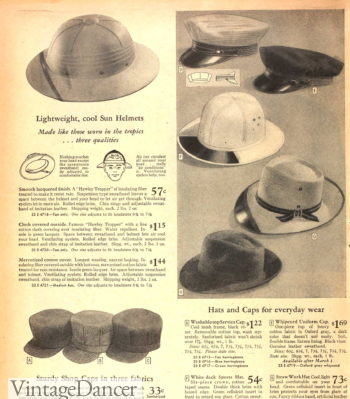 1946 work hats and caps