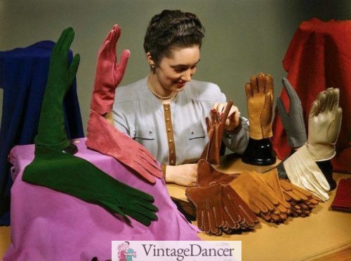 1947 colorful gloves