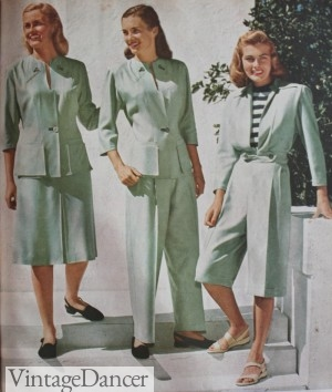 1947 Women's Skirt, Pant and Culoutte