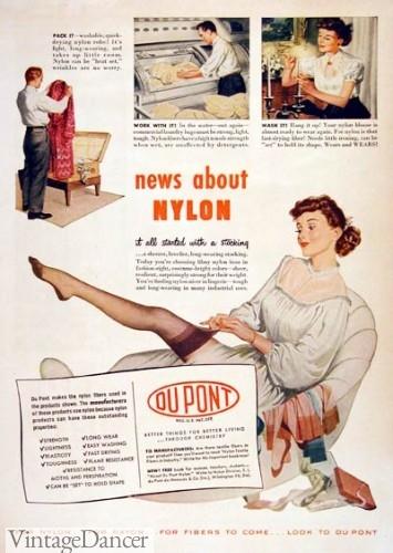 1948 dupont nylon