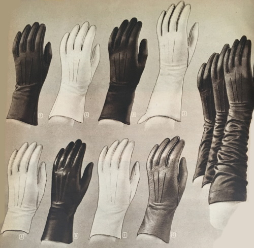 1948 leather gloves