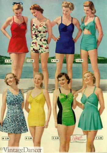 1948 swimsuits