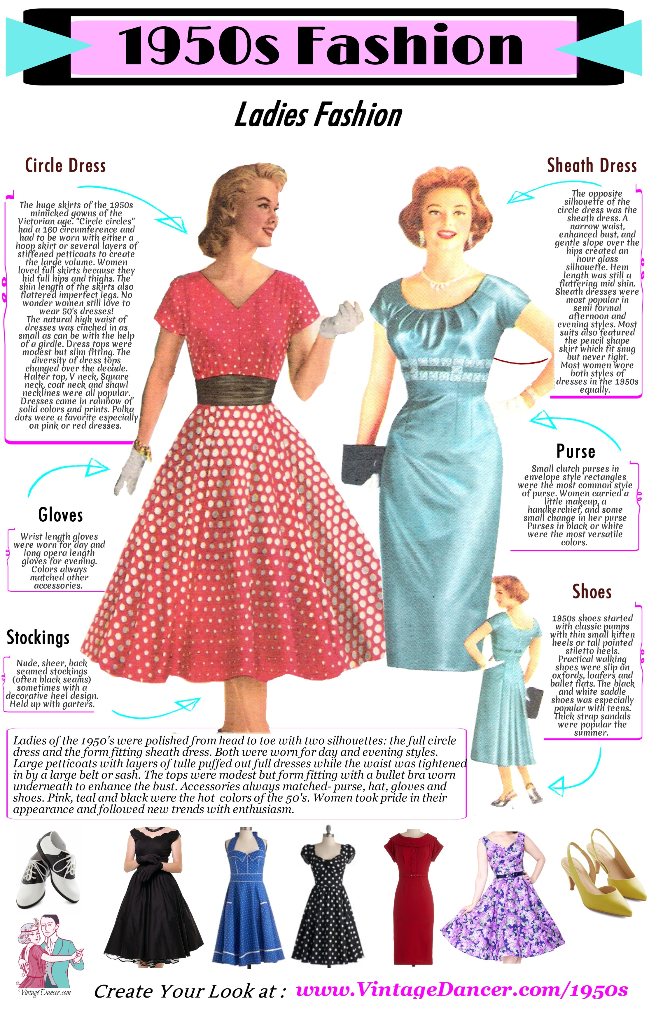 What Did Women Wear In The 1950s 1950s Fashion Guide