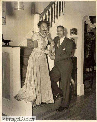 Early 1950s prom or ball