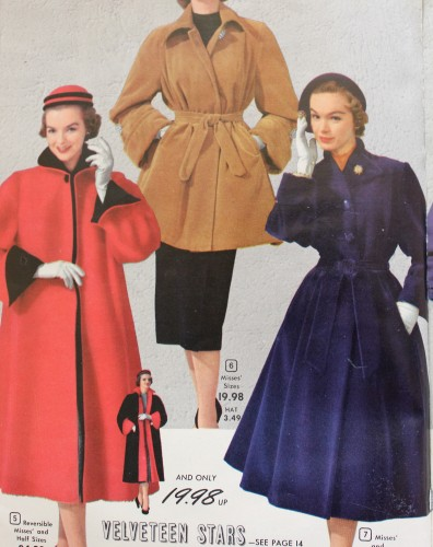 vintage boom clothing 1950s coats and jackets history