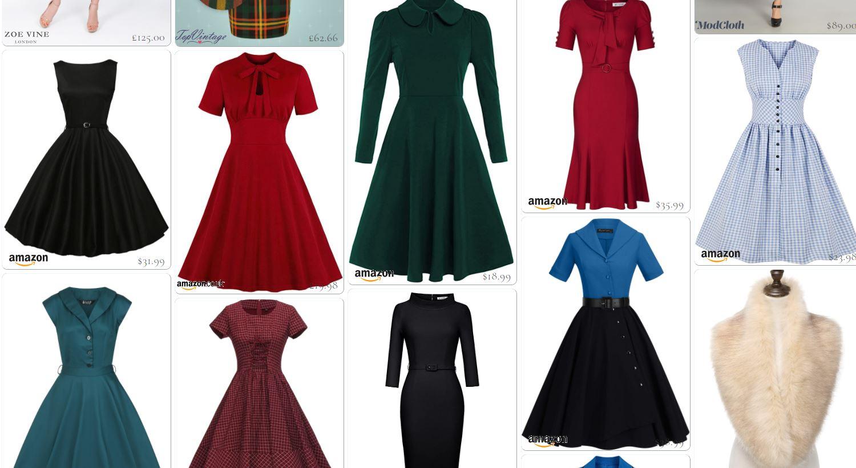 Shop 1950s style dresses