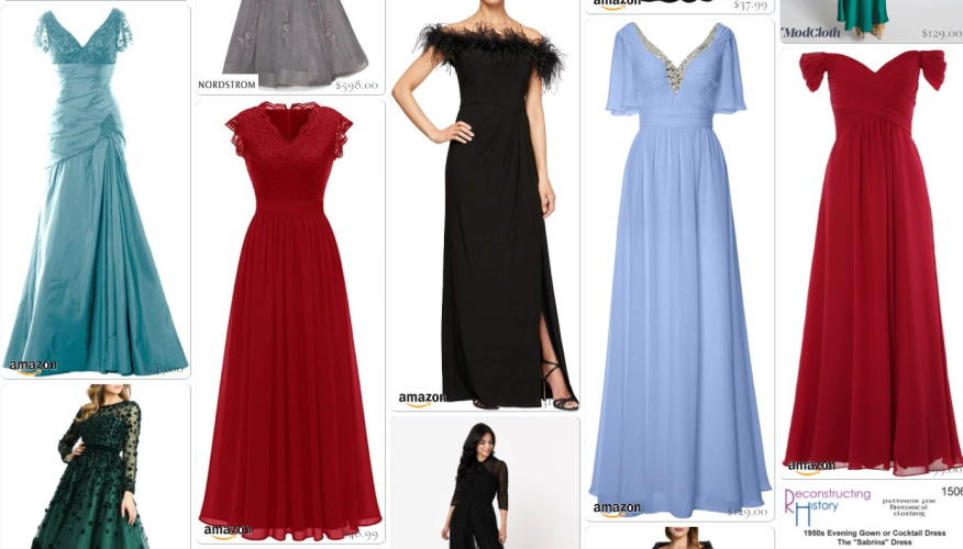 Shop 1950s style evening, party and prom dresses