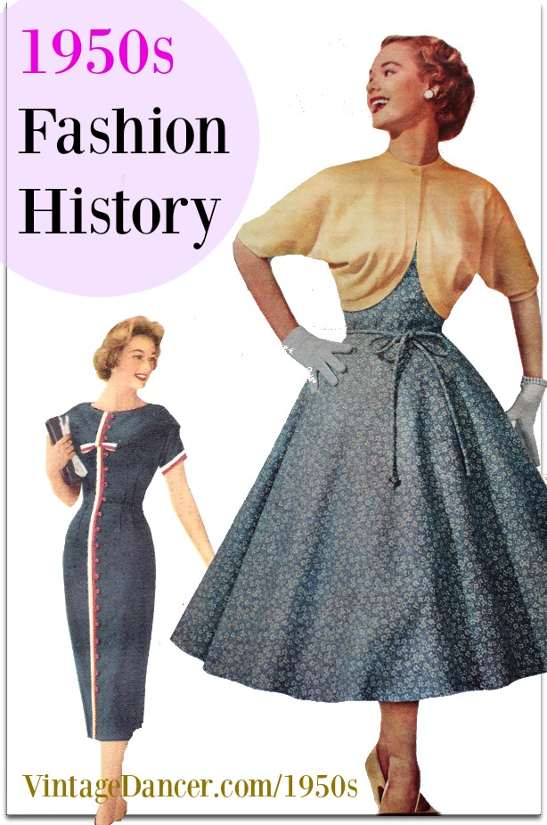 Womens fashion in 1940s