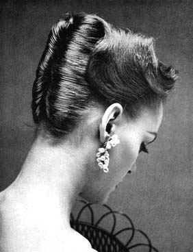 1950s French Twist