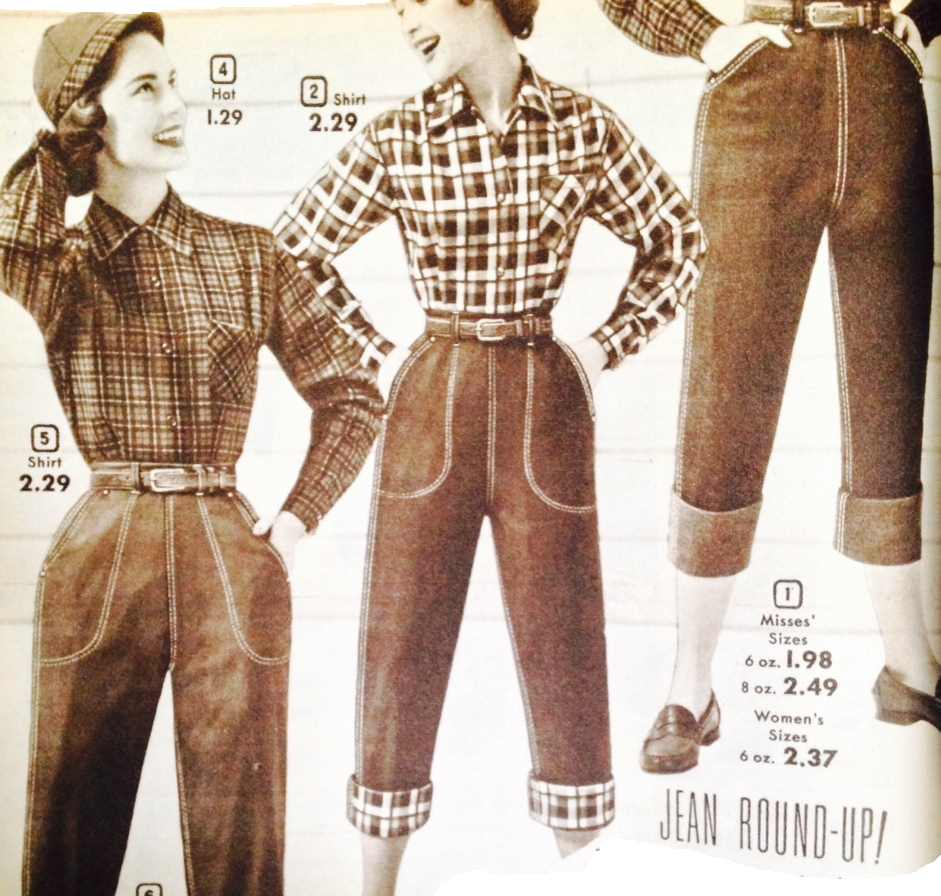 1950s Pants History for Women