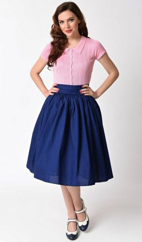 1950s sock hop outfit