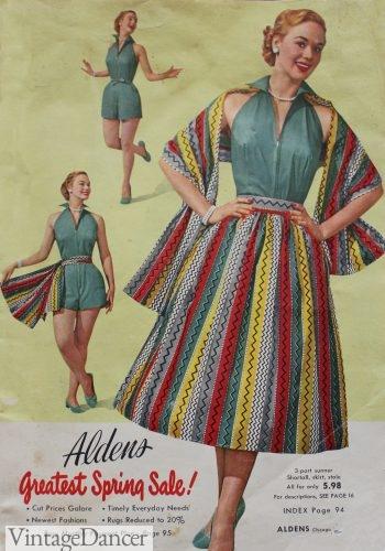 1953 Aldens cover skirt mexican festive (3)