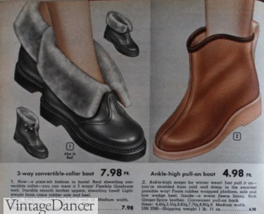1953 step-in booties