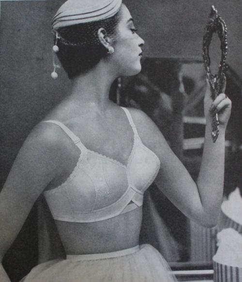 1955 1950s classic ba lingerie