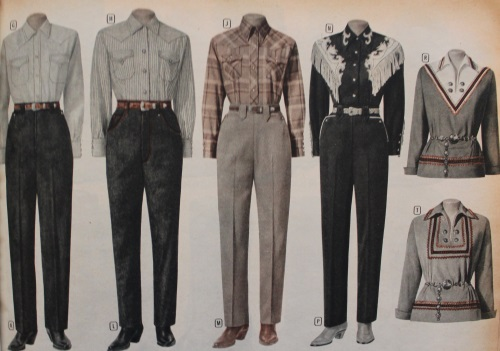 1930-1950s Western Wear for Women and Men