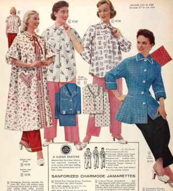 1956 robes and pajamas