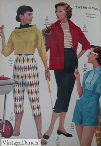 Casual outfits 1956