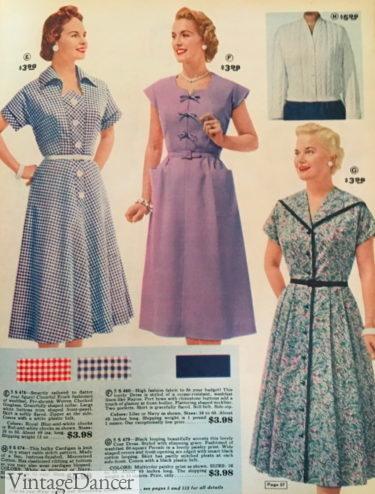 1957 plus size / mature women's dresses