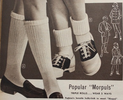 Vintage Socks | 1920s, 1930s, 1940s, 1950s, 1960s History