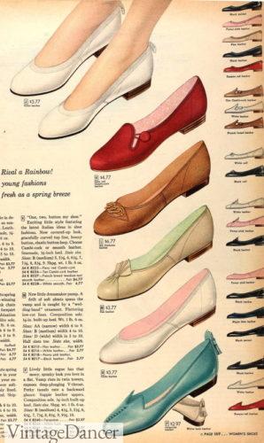 1950s flats shoes now heel low heels shoes teens women