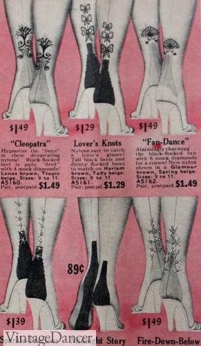 1950s nylon heels