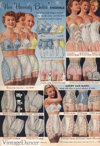 1950s girdles 1950s lingerie