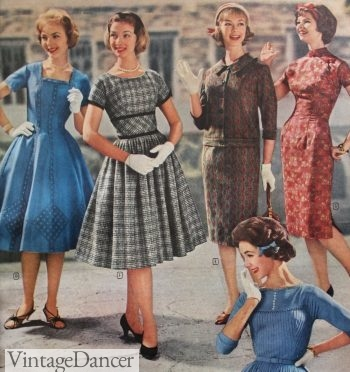 1959 Wards fall dresses