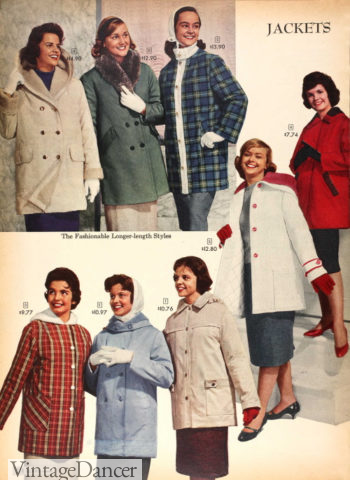 1959 winter hooded jackets
