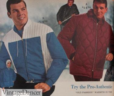 1964 men's puffer winter sport jacket