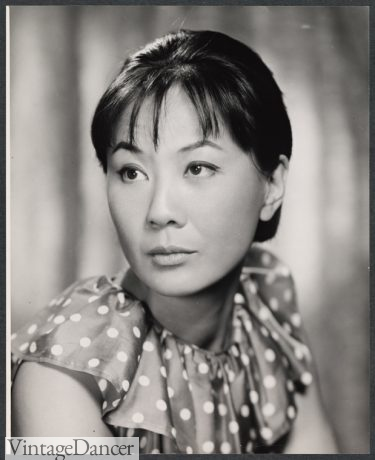 1960s Asian Chinese 1960s hairstyle