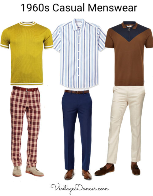 60s mens casual outfits