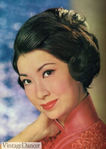 1960s Chinese Asian hairstyles