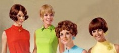 Short Mid 60s hairstyles