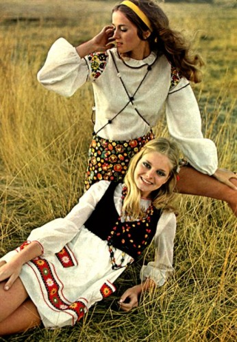 1960s fashion hippie clothing