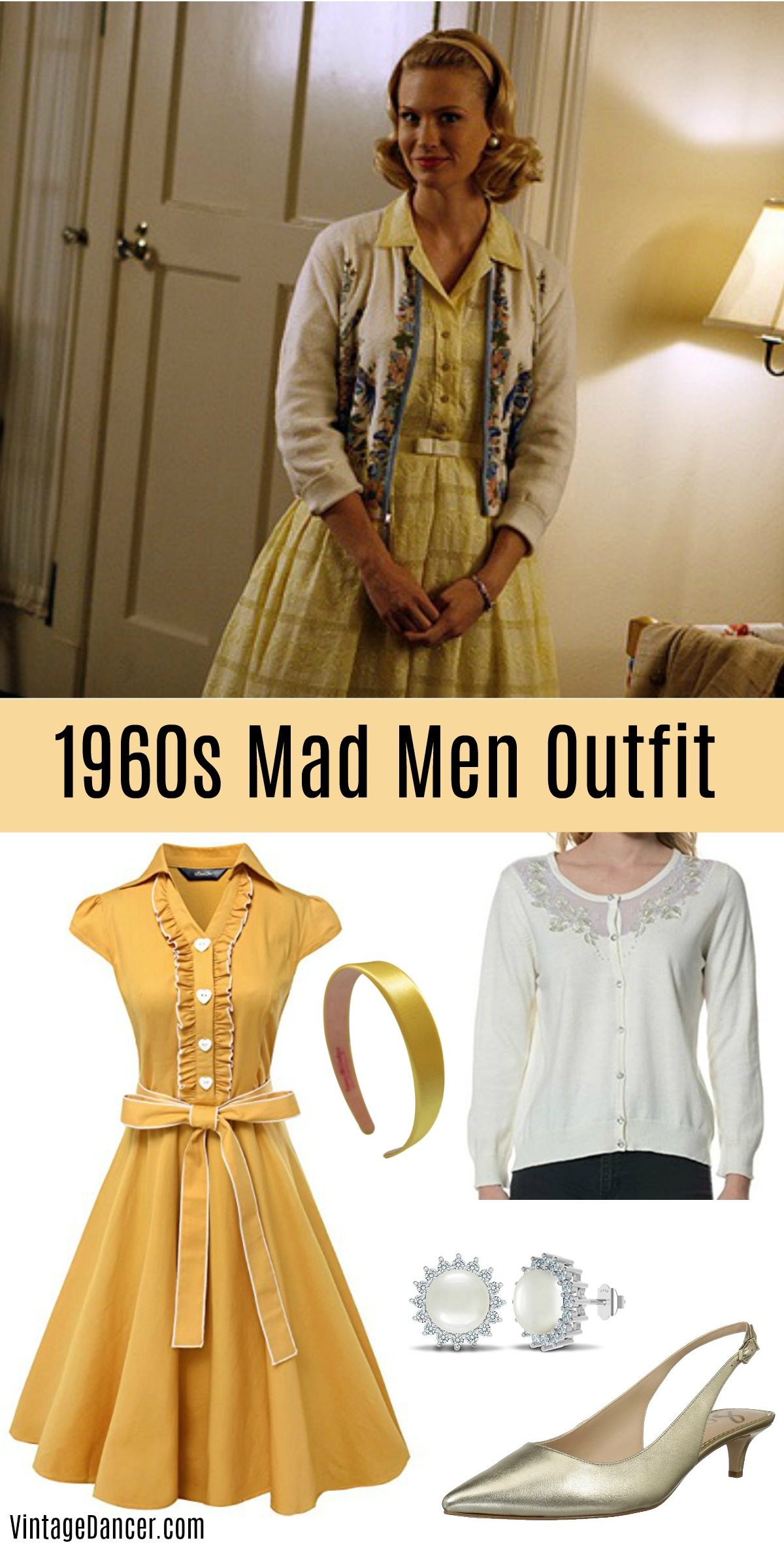 1960s Outfit Ideas |  Mod, Hippie, Casual, Housewife, Party