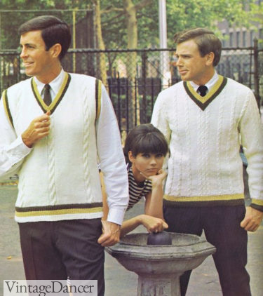 """1960s mens Ivy style for the """"Club"""""""