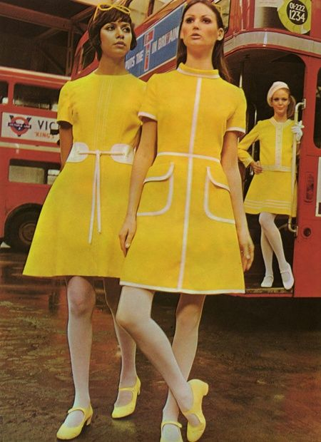 1960s Baby Doll Style with Mary Jane Shoes
