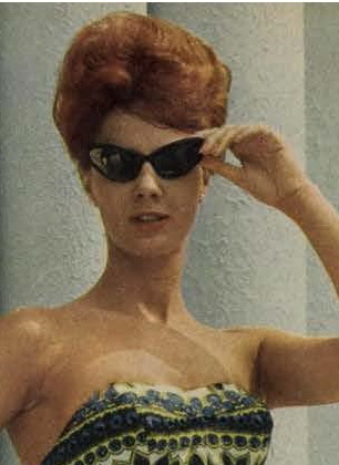 1961 cateye sunglasses