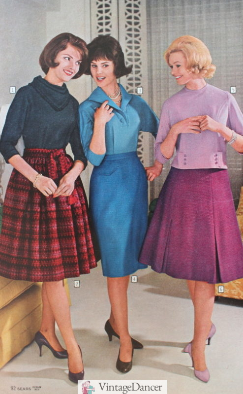 1961 tops and skirts