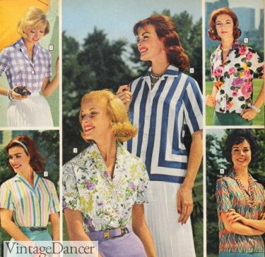 1961 shirt blouses