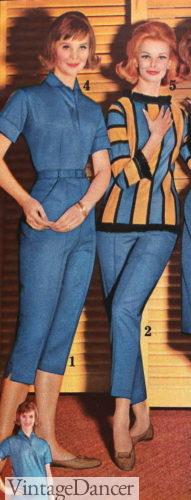 1962 capri summer pants