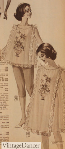 1964 baby doll nightie