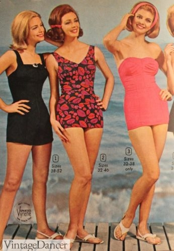 1964 retro swimsuits