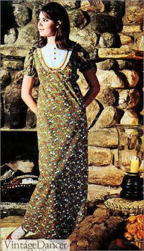 1965 Gunnie Sax prairie dress