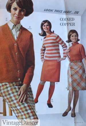 1967 Earth Tone Colors for Fall
