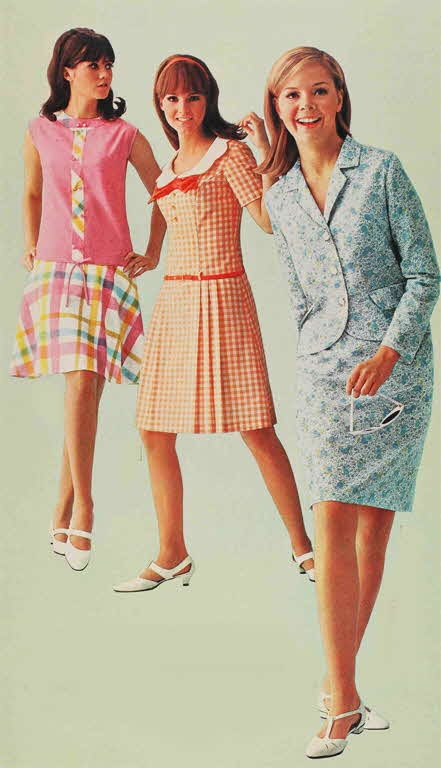 1960s Youthful Dresses for the Youthquake movement