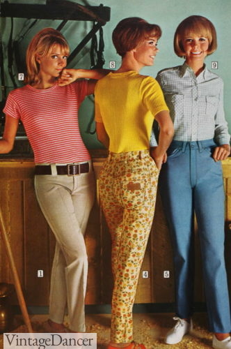 1967 hip hugger and classic jeans