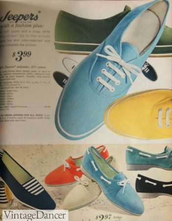 1968 Jeepers sneakers